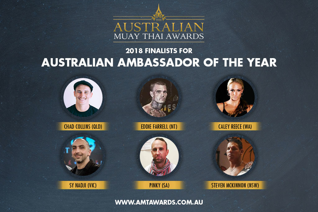 2018 Finalists for Australian Ambassador of the Year