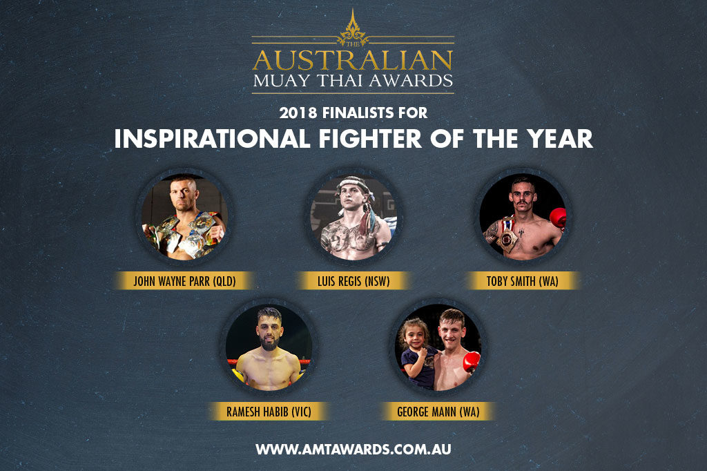 2018 Finalists for Inspirational Fighter of the Year