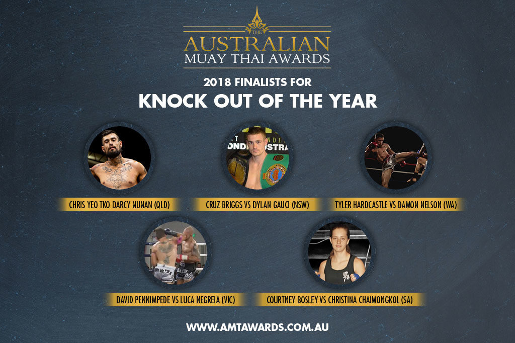 2018 Finalists for Knock Out of the Year